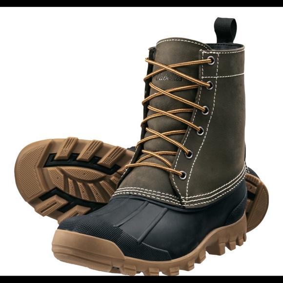 Cabela's Men's 9'' Lace Up 200 gram Duck Boots 8D